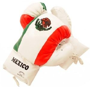 Mexican Flag Boxing Gloves 16 oz Last Punch